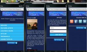 mobile web site w2